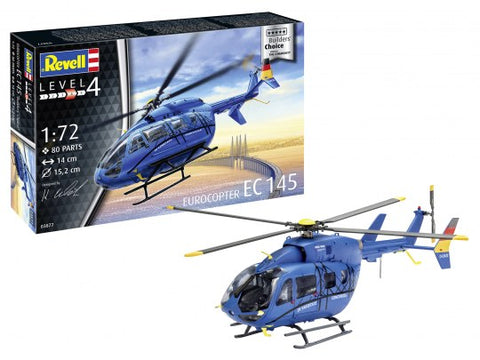 "MODEL SET EUROCOPTER EC 145 ""BUILDER'S CHOICE"" - REVELL (RV63877)"