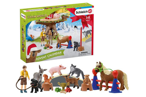 ADVENT CALENDAR FARM WORLD - SCHLEICH (SL98063)