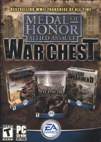MEDAL OF HONOR: ALLIED ASSAULT WAR CHEST - GOG.COM - MULTILANGUAGE - WORLDWIDE - PC