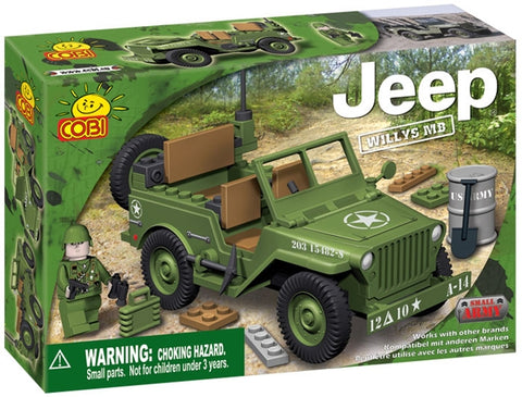 SET DE CONSTRUIT JEEP WILLYS - COBI (EP3X24110)