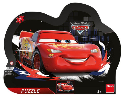 PUZZLE CU RAMA - CARS (25 PIESE) - DINO TOYS (311367)