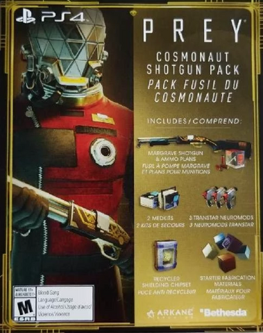 PREY + COSMONAUT SHOTGUN PACK - STEAM - MULTILANGUAGE - WORLDWIDE - PC Libelula Vesela