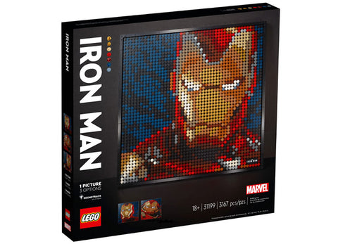 MARVEL STUDIOS IRON MAN - LEGO ART - LEGO (31199)