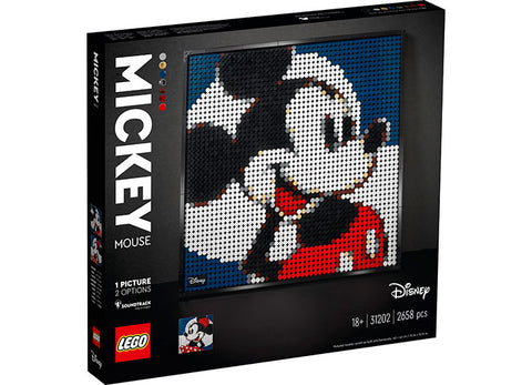 MICKEY MOUSE - LEGO ART - LEGO (31202)