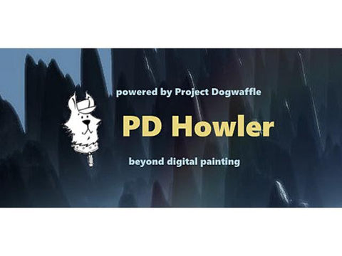 PD HOWLER 9.6 DIGITAL PAINTER AND VISUAL FX BOX - STEAM - MULTILANGUAGE - WORLDWIDE - PC