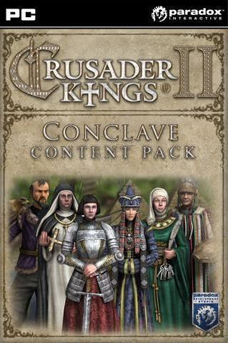 CRUSADER KINGS II - CONCLAVE -CONTENT PACK (DLC) - STEAM - PC