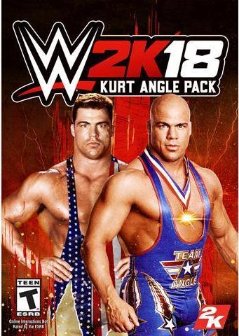 WWE 2K18 - KURT ANGLE PACK (DLC) - STEAM - PC - WORLDWIDE