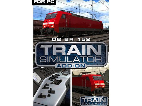 TRAIN SIMULATOR - DB BR 152 LOCO ADD-ON (DLC) - STEAM - PC - EU