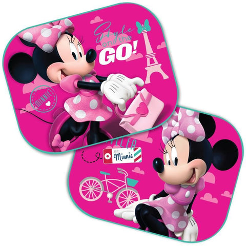 SET 2 PARASOLARE AUTO MINNIE MOUSE DISNEY