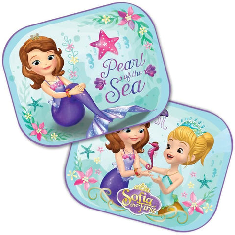 SET 2 PARASOLARE AUTO SOFIA PRINCESS DISNEY