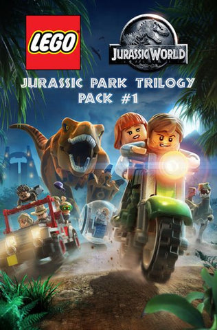 LEGO JURASSIC WORLD: JURASSIC PARK TRILOGY (DLC) PACK 1 (DLC) - STEAM - PC