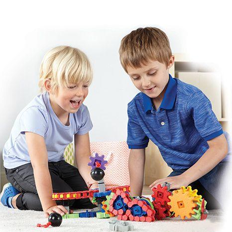 SET DE CONSTRUCTIE GEARS! - UTILAJE IN MISCARE - LEARNING RESOURCES (LER9227)