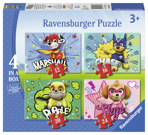 PUZZLE PAW, 12/16/20/24 PIESE - RAVENSBURGER (RVSPC06923)