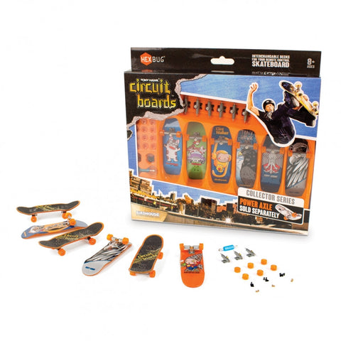 SET 6 MINISKATEBOARD PREMIUM TONY HAWK (ST2X407-3678)