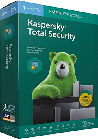 KASPERSKY TOTAL SECURITY 2020 (3 DEVICES, 2 YEARS) - OFFICIAL WEBSITE - MULTILANGUAGE - EU - PC