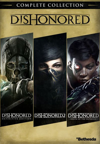 DISHONORED (COMPLETE COLLECTION) - PC - STEAM - MULTILANGUAGE - WORLDWIDE Libelula Vesela Jocuri video