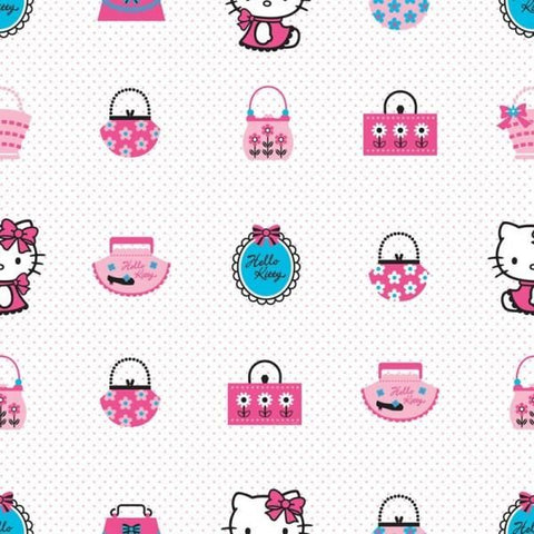 ROLA TAPET 10 X 0,52M HELLO KITTY FASHION TA73499 - DECOFUN