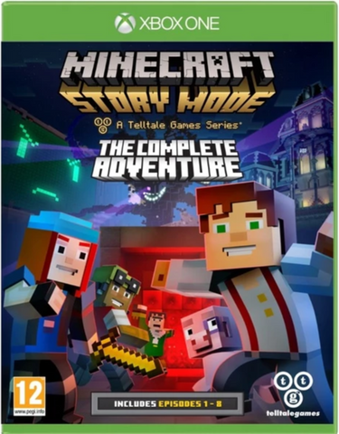 MINECRAFT: STORY MODE - THE COMPLETE ADVENTURE (EPISODES 1-8) - XBOX ONE - XBOX LIVE - WORLDWIDE - MULTILANGUAGE