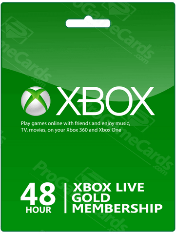 XBOX LIVE 48-HOUR GOLD TRIAL MEMBERSHIP - WORLDWIDE Libelula Vesela Jocuri video