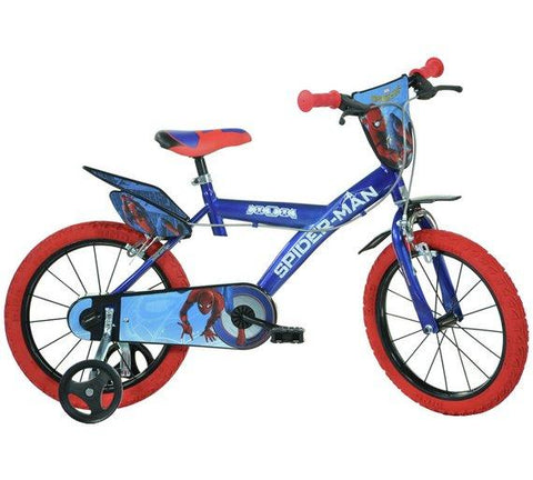 BICICLETA COPII 16'' SPIDERMAN HOME - DINO BIKES (163G-SPH)