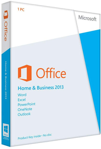 MICROSOFT OFFICE HOME & BUSINESS 2013 - OFFICIAL WEBSITE - MULTILANGUAGE - WORLDWIDE - PC