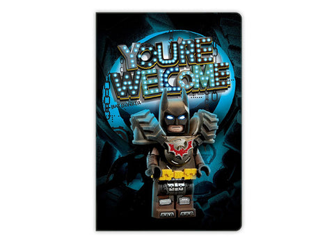 AGENDA LEGO MOVIE 2 BATMAN   - LEGO (52340) Libelula Vesela