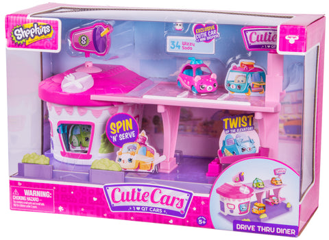 CUTIE CARS, PLAYSET RESTAURANT DRIVE IN - MOOSE (56538)