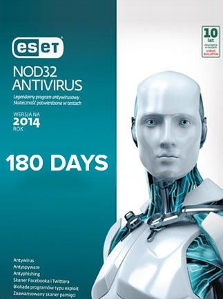 ESET NOD32 ANTIVIRUS 1 DEVICE 180 DAYS - OFFICIAL WEBSITE - WORLDWIDE - PC