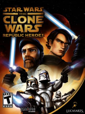 STAR WARS THE CLONE WARS: REPUBLIC HEROES - STEAM - PC - EU