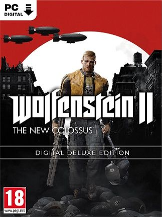WOLFENSTEIN II: THE NEW COLOSSUS (DIGITAL DELUXE EDITION) - STEAM - MULTILANGUAGE - RU - PC Libelula Vesela