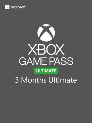 XBOX GAME PASS ULTIMATE 3 MONTHS (XBOX ONE) - XBOX LIVE - MULTILANGUAGE - EU - XBOX