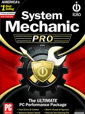IOLO SYSTEM MECHANIC PRO (UNLIMITED DEVICES, 1 YEAR) - OFFICIAL WEBSITE - MULTILANGUAGE - WORLDWIDE - PC