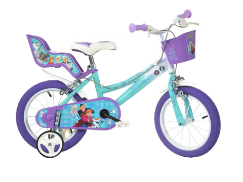 BICICLETA COPII 16'' - FROZEN MOVIE - DINO BIKES (166R-FZ2)