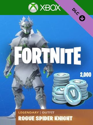 FORTNITE: LEGENDARY ROGUE SPIDER KNIGHT OUTFIT + 2000 V-BUCKS BUNDLE (XBOX ONE) - XBOX LIVE - MULTILANGUAGE - WORLDWIDE - XBOX Libelula Vesela