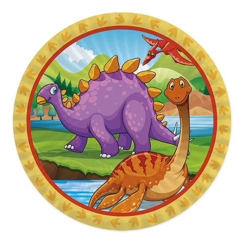 FARFURII 24 CM JURASSIC 8 BUC/SET BIG PARTY (BP60536)