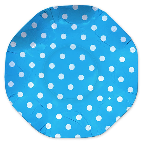 PLATOU ROTUND 32 CM POIS TURCOAZ BIG PARTY (BP61657)