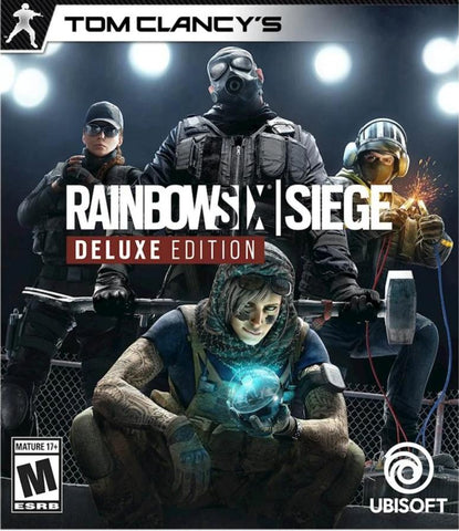 TOM CLANCY'S RAINBOW SIX SIEGE (DELUXE EDITION)PC - UPLAY - MULTILANGUAGE - WORLDWIDE - PC