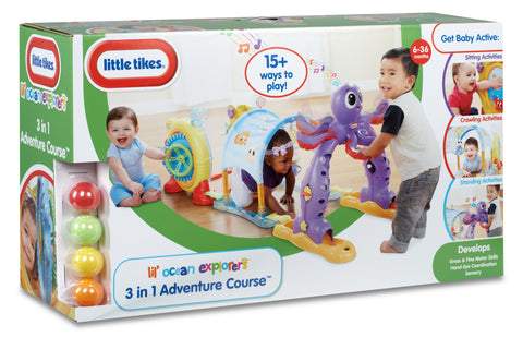 CURSA DE AVENTURI 3 IN 1  - LITTLE TIKES (LT63846)