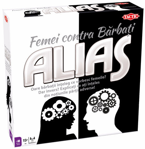 ALIAS WOMAN VS MEN - TACTIC (54291)