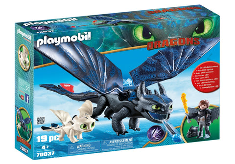 HICCUP, TOOTHLESS SI PUI DE DRAGON - PLAYMOBIL (PM70037)