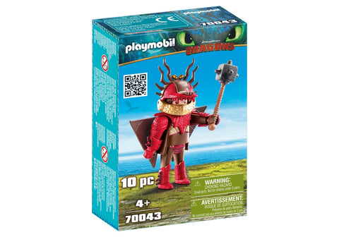 SNOTLOUT IN COSTUM DE ZBOR - PLAYMOBIL (PM70043)
