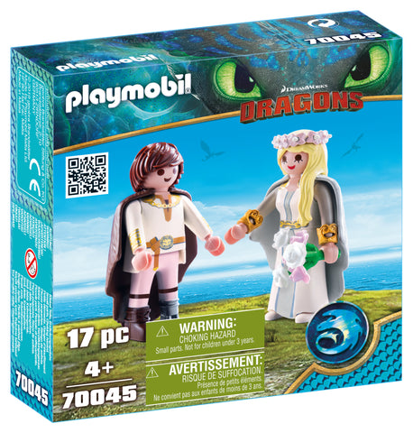 CUPLU REGAL HICCUP SI ASTRID - PLAYMOBIL (PM70045)