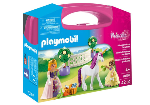 SET PORTABIL - PRINTESE SI UNICORN - PLAYMOBIL (PM70107)
