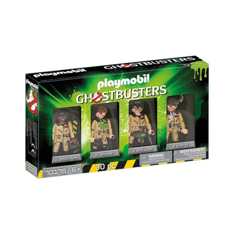 GHOSTBUSTERS - SET 4 FIGURINE - PLAYMOBIL (PM70175)