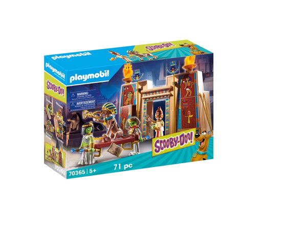 SCOOBY-DOO! AVENTURI IN EGIPT - PLAYMOBIL (PM70365)