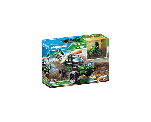 VEHICULE OFF ROAD - PLAYMOBIL (PM70460)