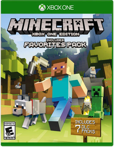 MINECRAFT: EDITION FAVORITES PACK (XBOX ONE) - XBOX LIVE - MULTILANGUAGE - WORLDWIDE - XBOX