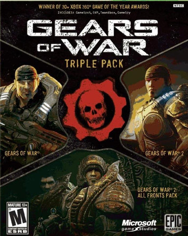 GEARS OF WAR TRILOGY (XBOX ONE) - XBOX LIVE - MULTILANGUAGE - WORLDWIDE