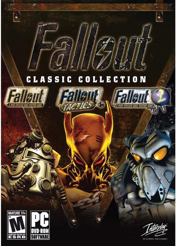 FALLOUT CLASSIC COLLECTION - STEAM - WORLDWIDE - MULTILANGUAGE - PC Libelula Vesela