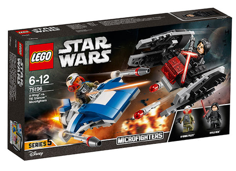 A-WING CONTRA TIE SILENCER MICROFIGHTERS - LEGO (75196)